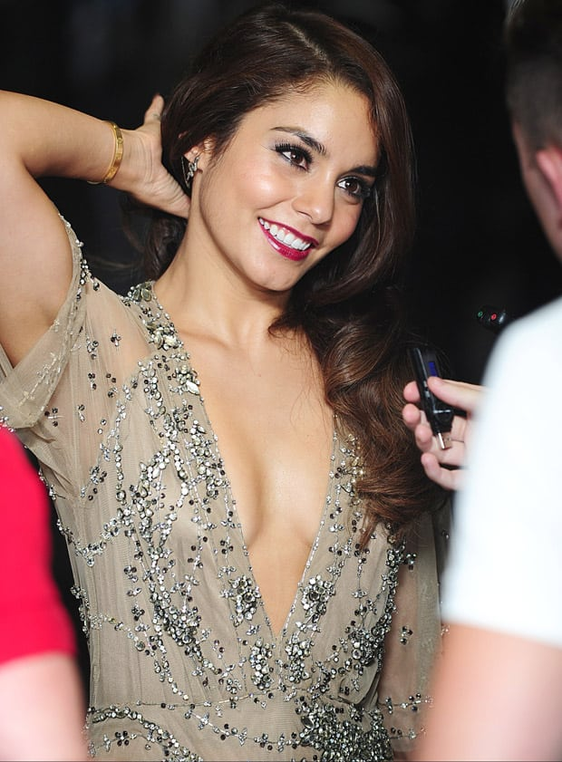 vanessa hudgens hot smile