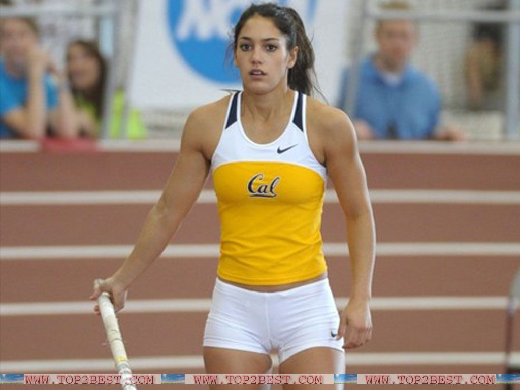 Sexy female athletes with big butts right!