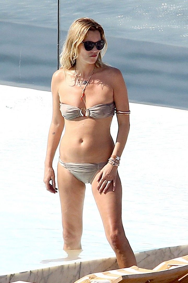 Kate Moss on Beach