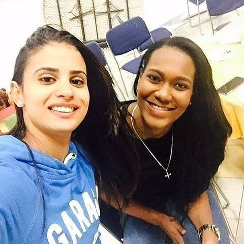 Winifer Fernandez with Friend