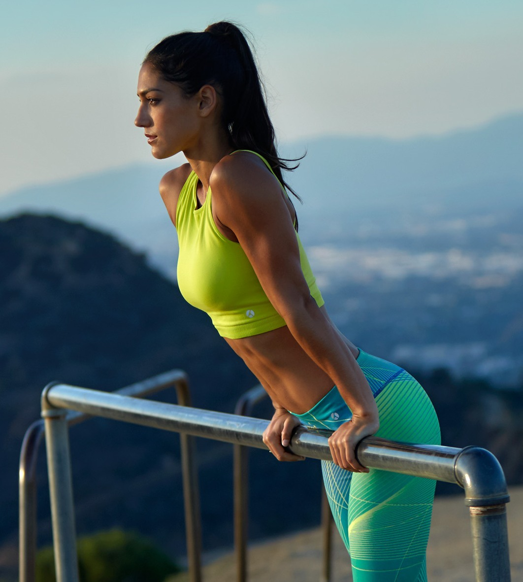 Allison Stokke Jogging