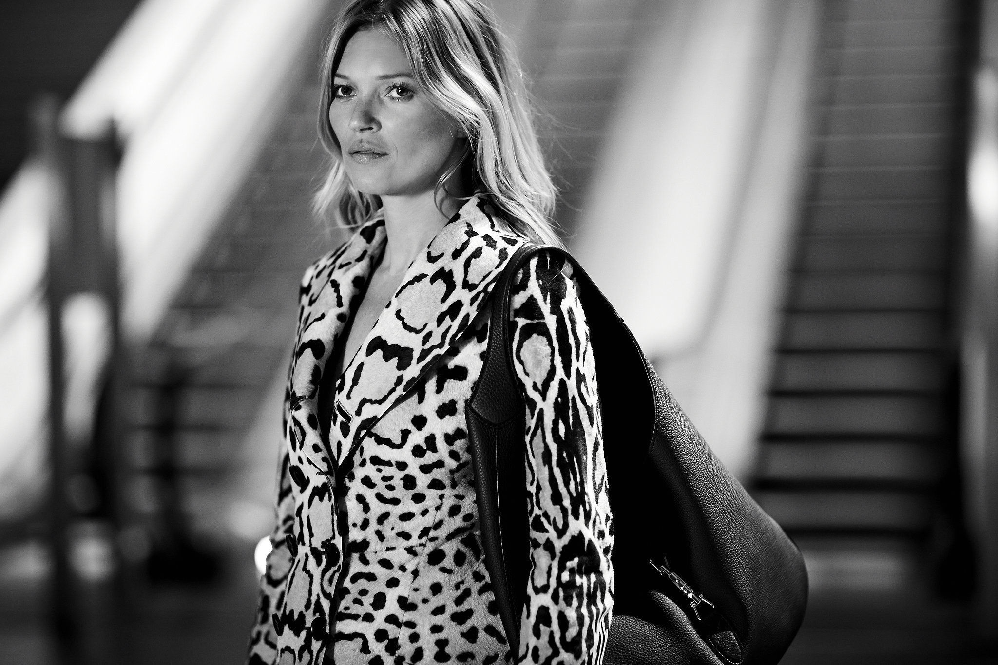 Kate Moss in Black & White