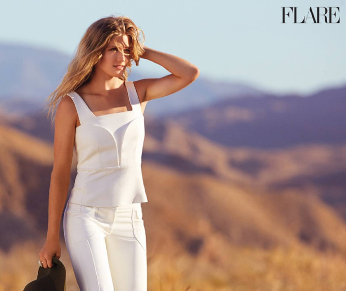 Eugenie Bouchard on Photoshoot