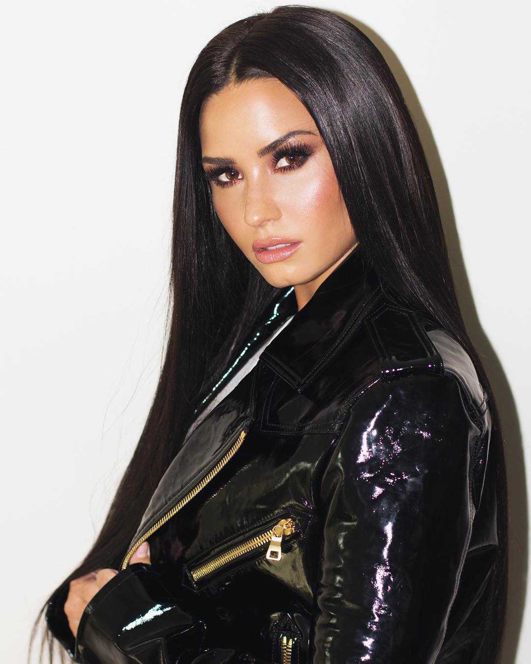 Demi Lovato Hot in Black