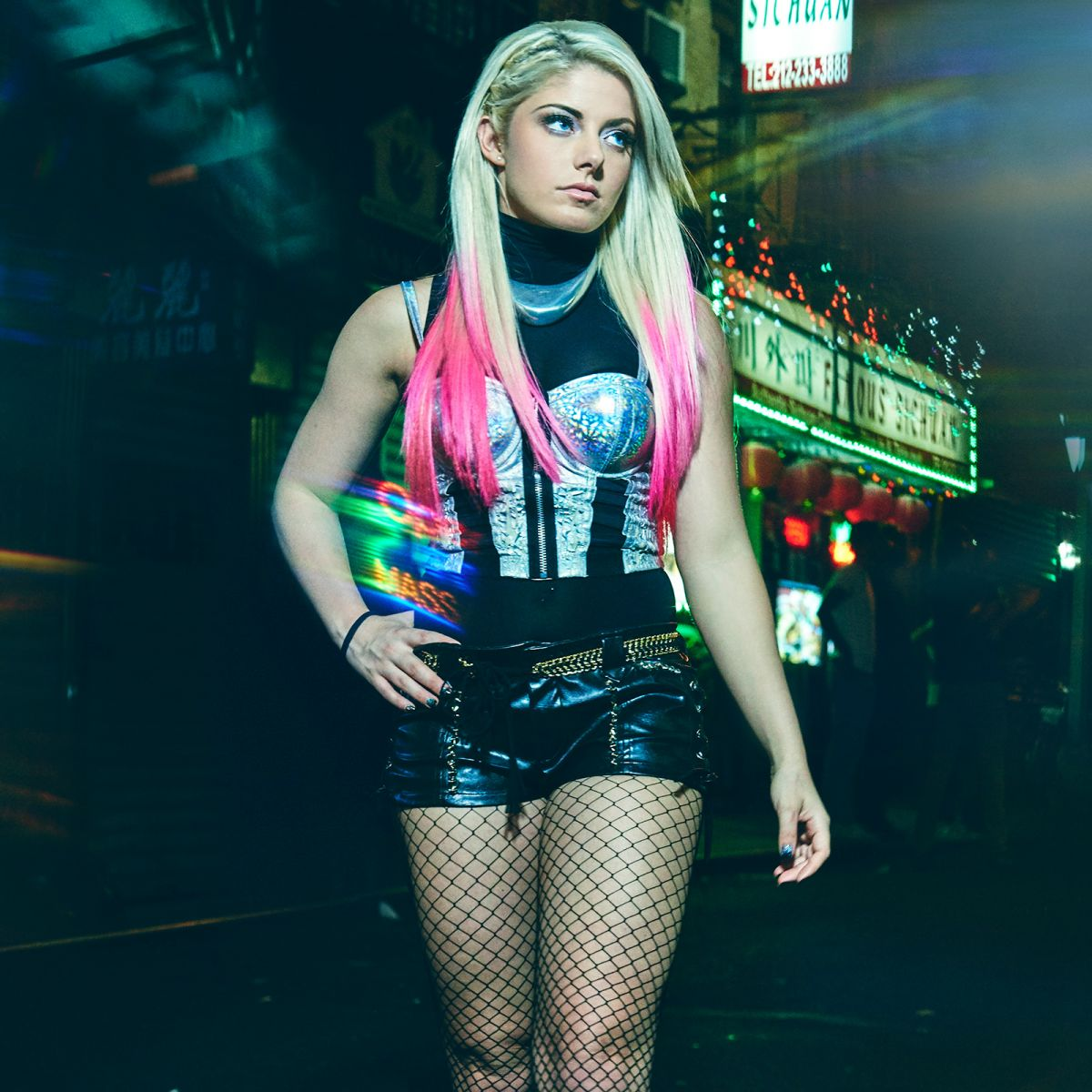 Alexa Bliss Night Walk