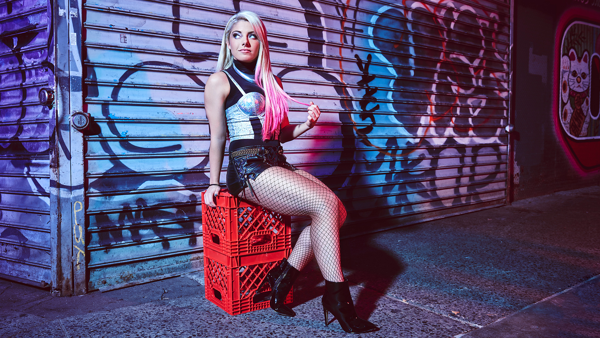 Alexa Bliss Photoshoot Hot