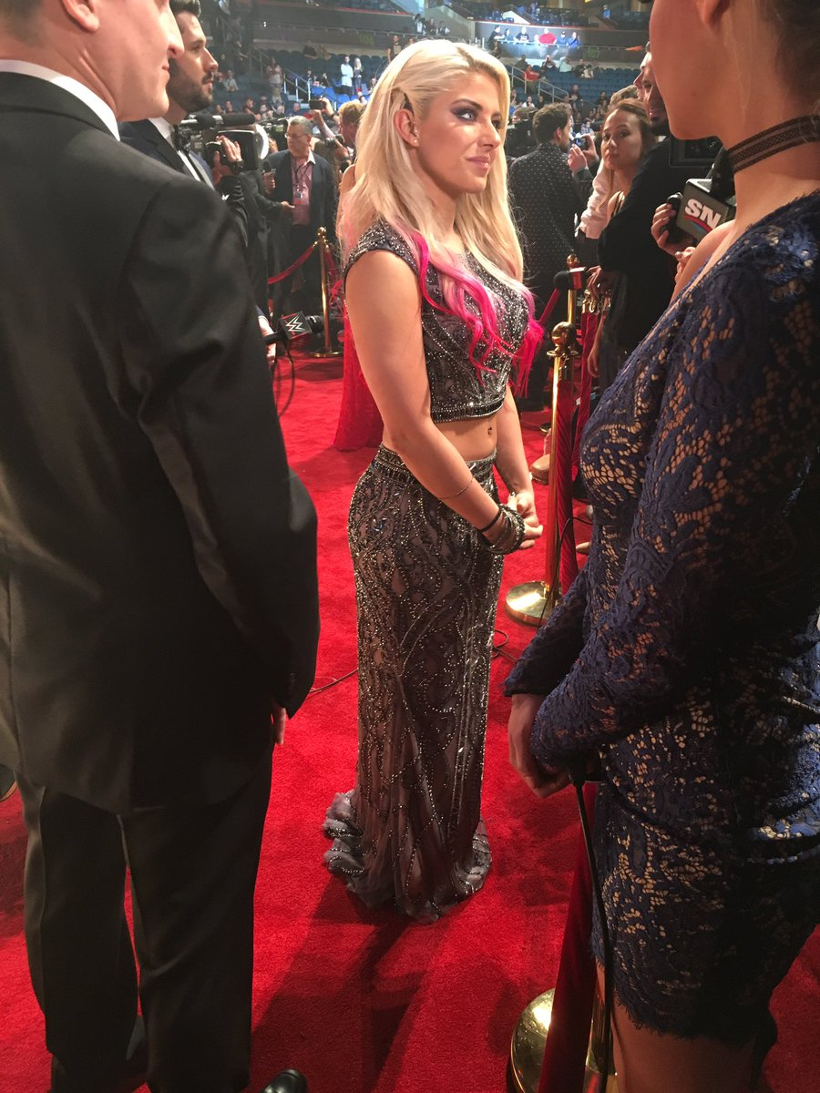 Alexa Bliss Red Carpet