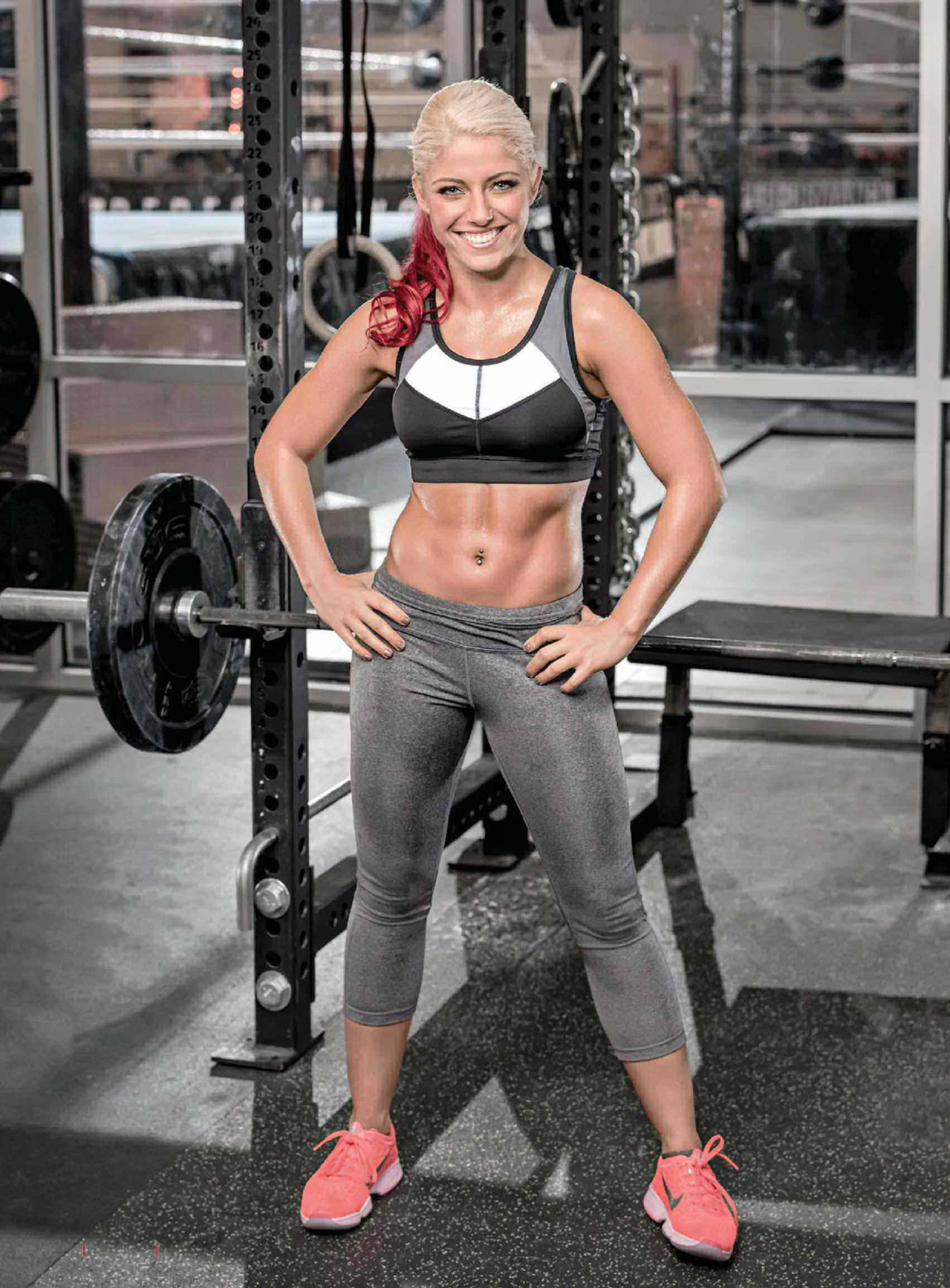 Alexa Bliss at Gym