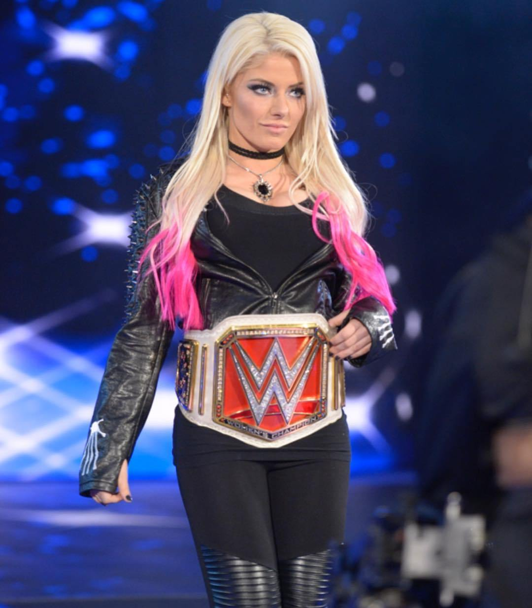 Alexa Bliss in Black
