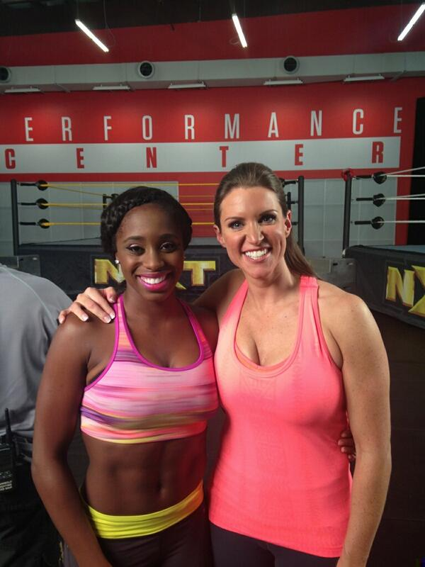 Stephanie Mcmahon and naomi