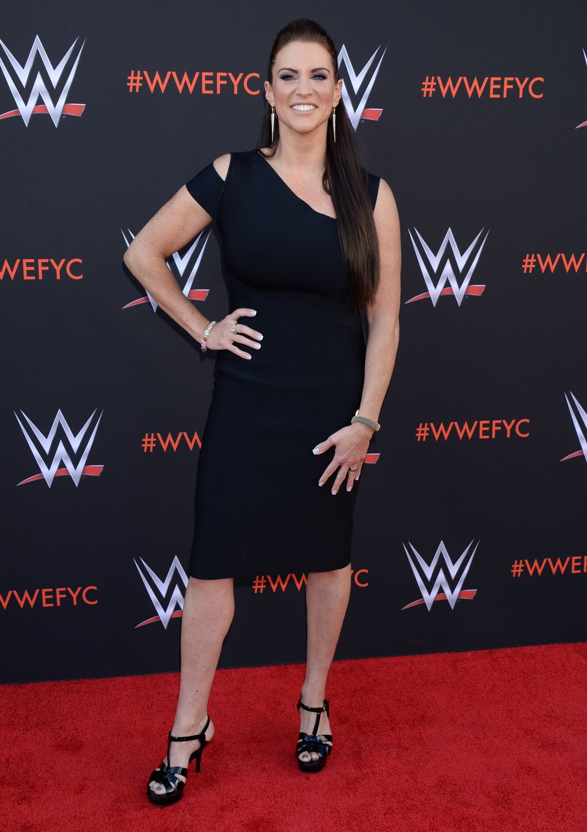 Stephanie Mcmahon in Black Dress