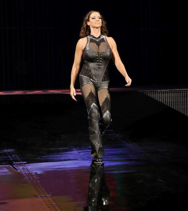 Stephanie Mcmahon walking