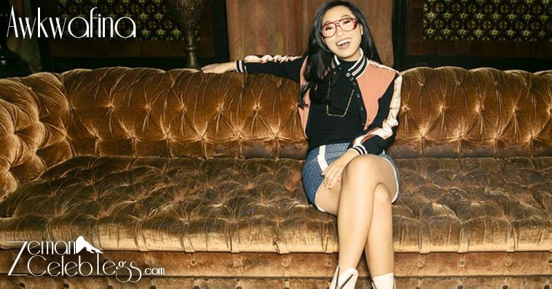 awkwafina hot feet
