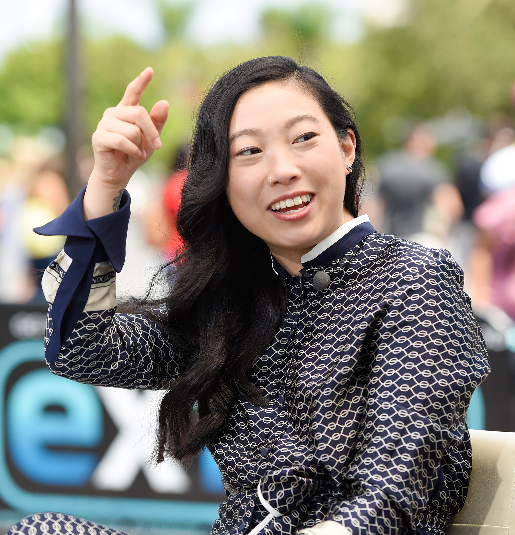 awkwafina pretty look