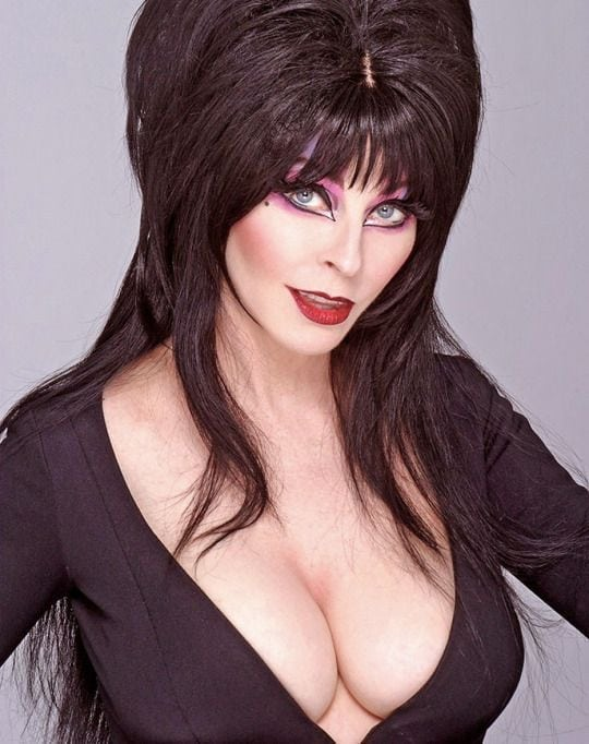 cassandra peterson sexy cleavage