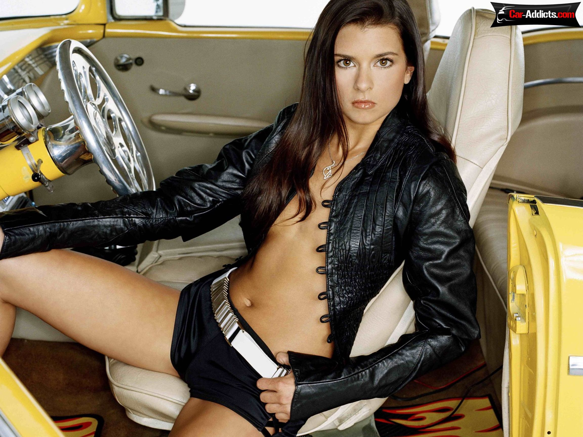 danica patrick hottie look