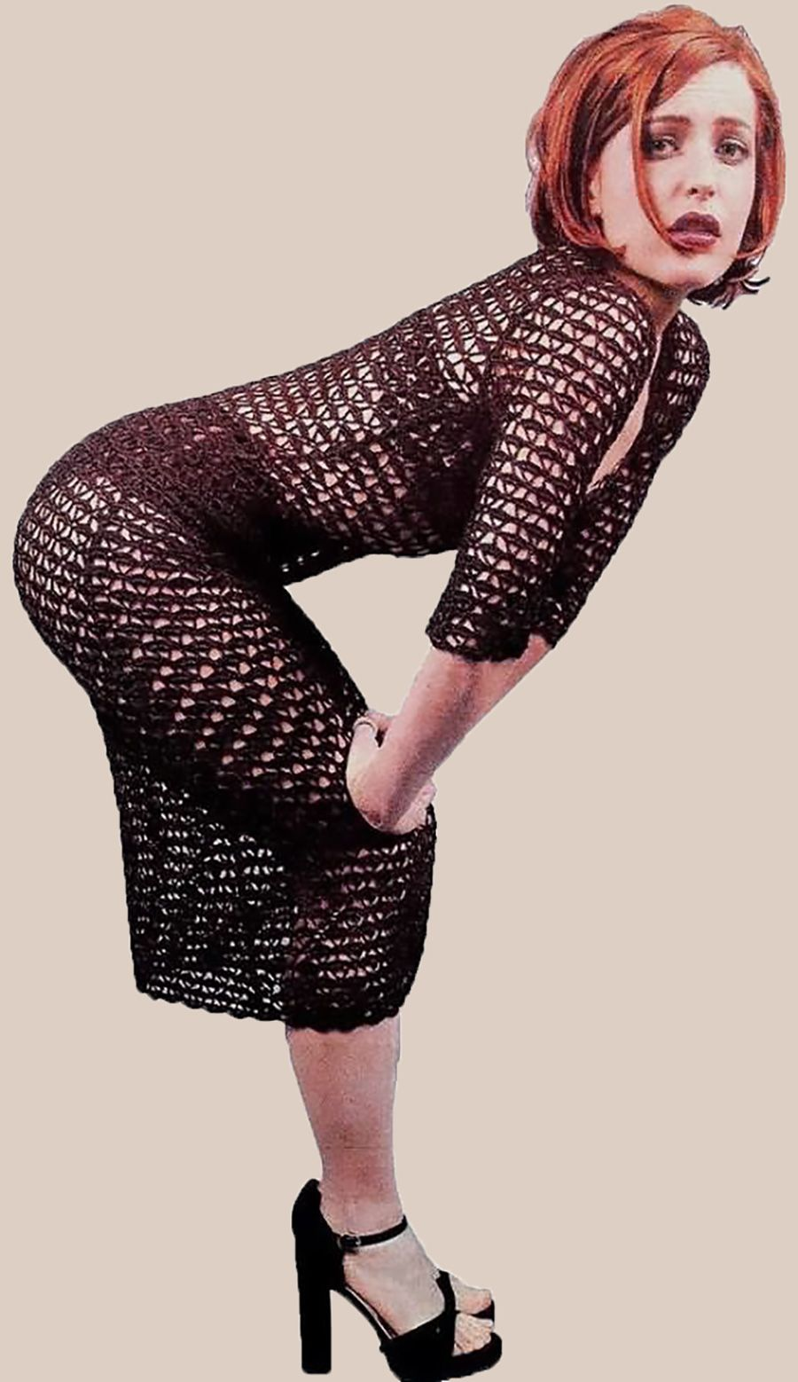 gillian anderson booty