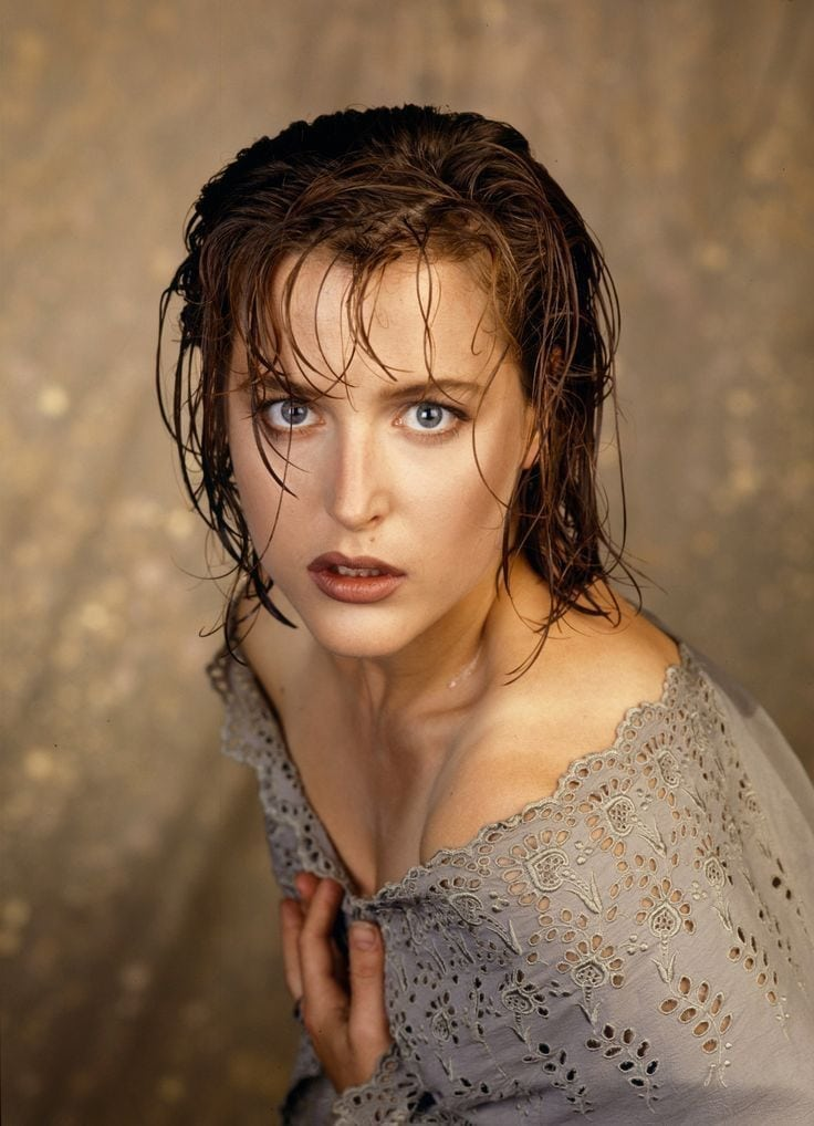 gillian anderson looking hot