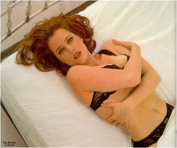 gillian anderson too sexy