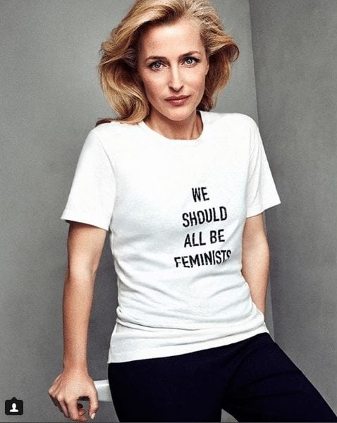 gillian anderson wow