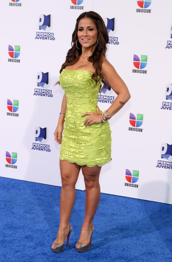 jackie guerrido green dress