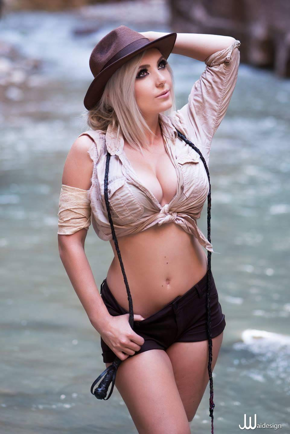 jessica nigri indiana jones