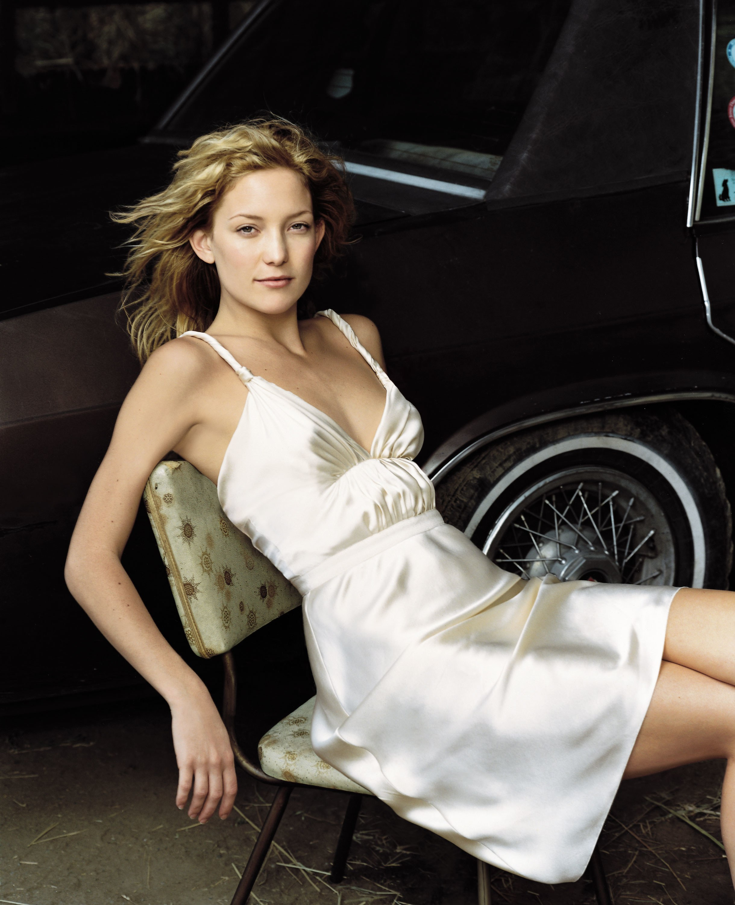 kate hudson silk dress