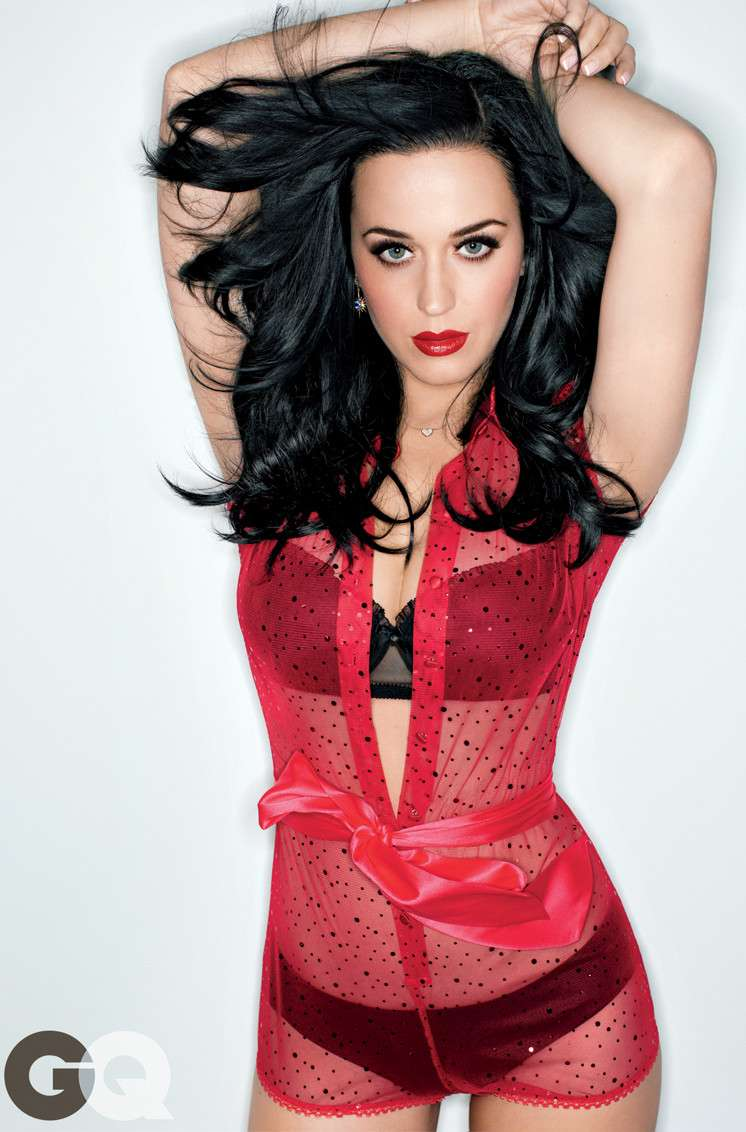 katy perry showing major cleavage