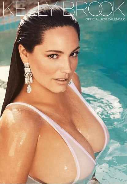 kelly brook in the water