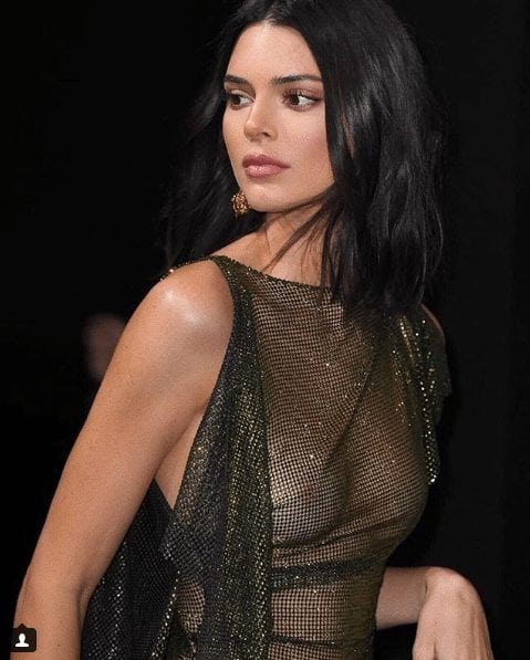 kendall jenner hot dress
