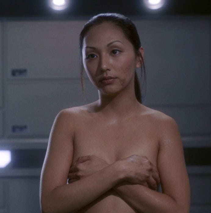 Hoshi star trek boobs gif
