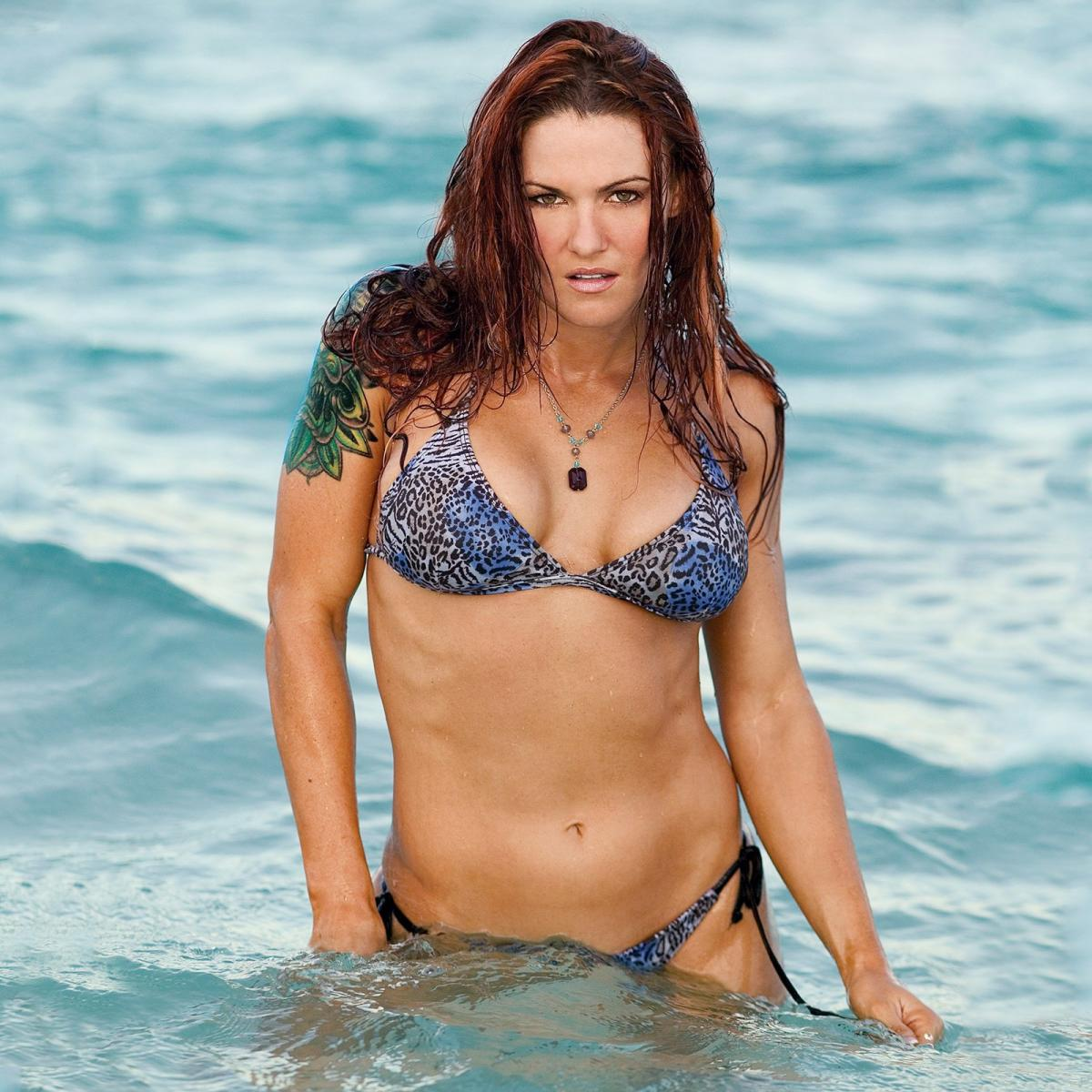 lita in the water