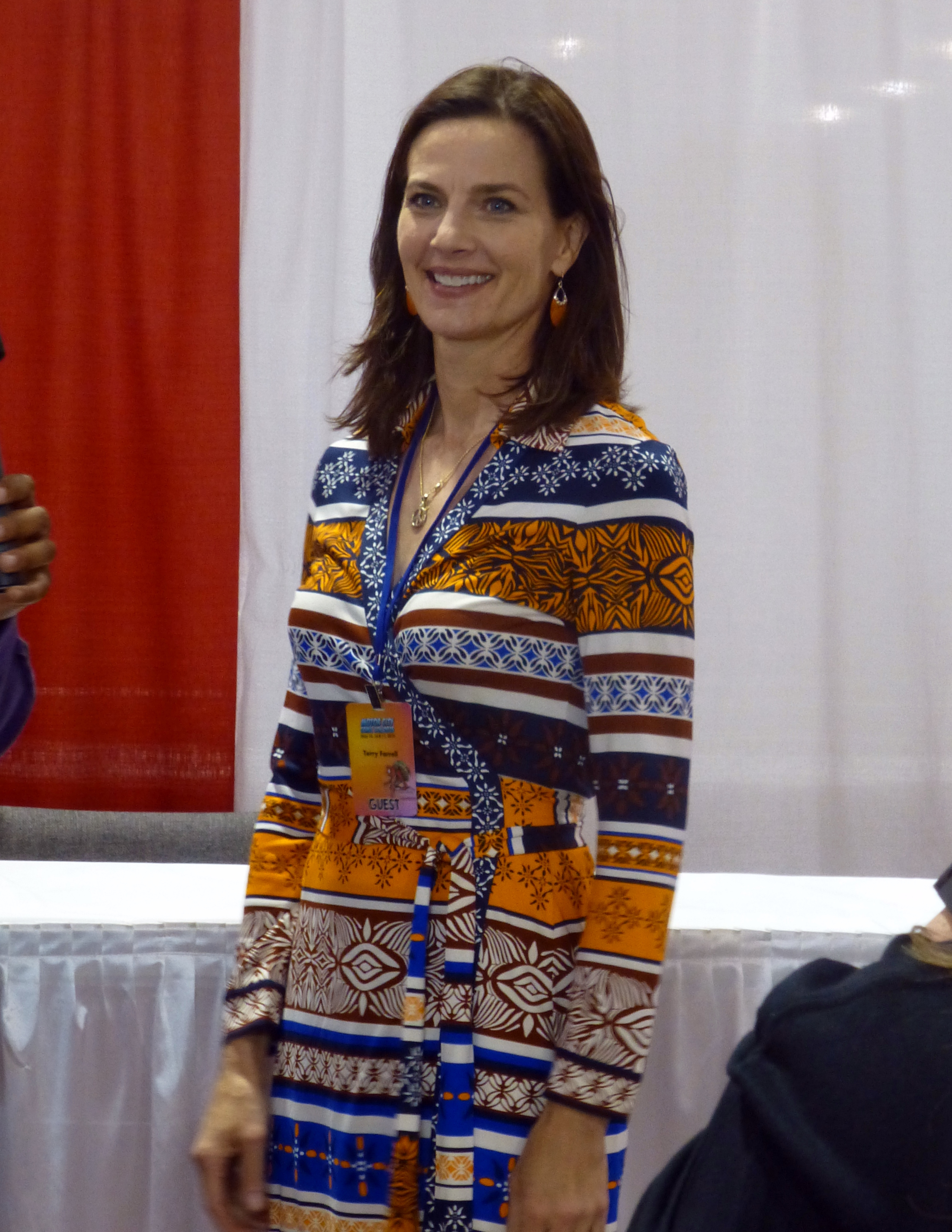 terry farrell awesome look