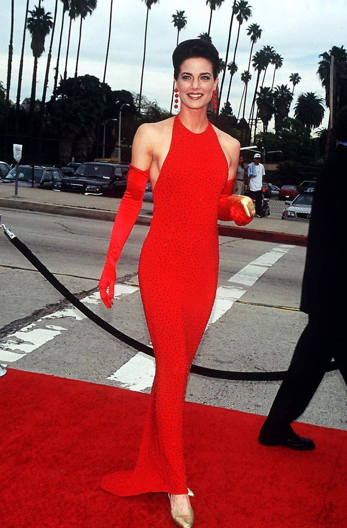 terry farrell red carpet