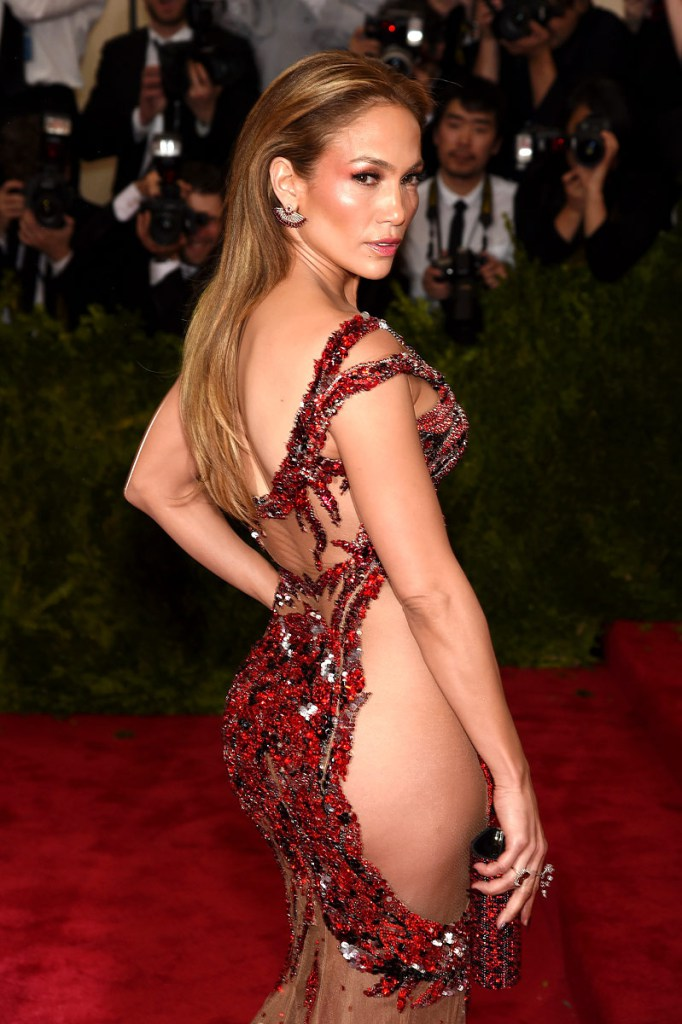 Jennifer Lopez on Red Carpet