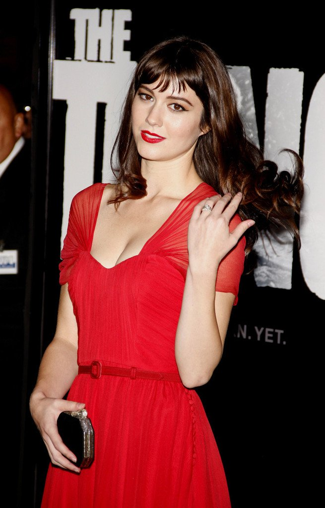 Mary Elizabeth Winstead Hot in Red