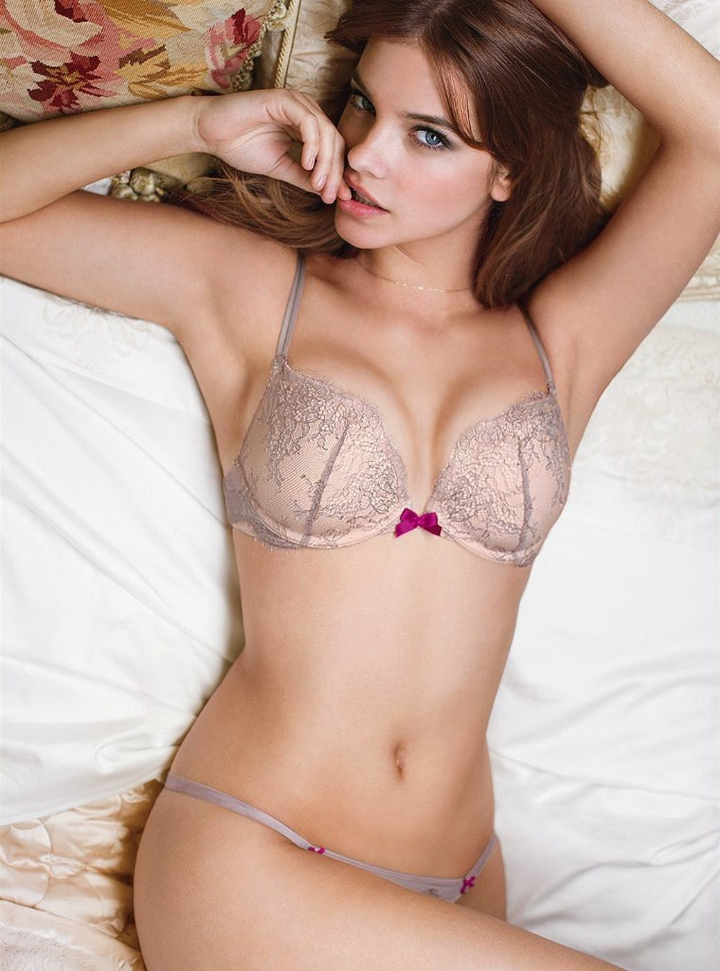 Barbara Palvin on Bed