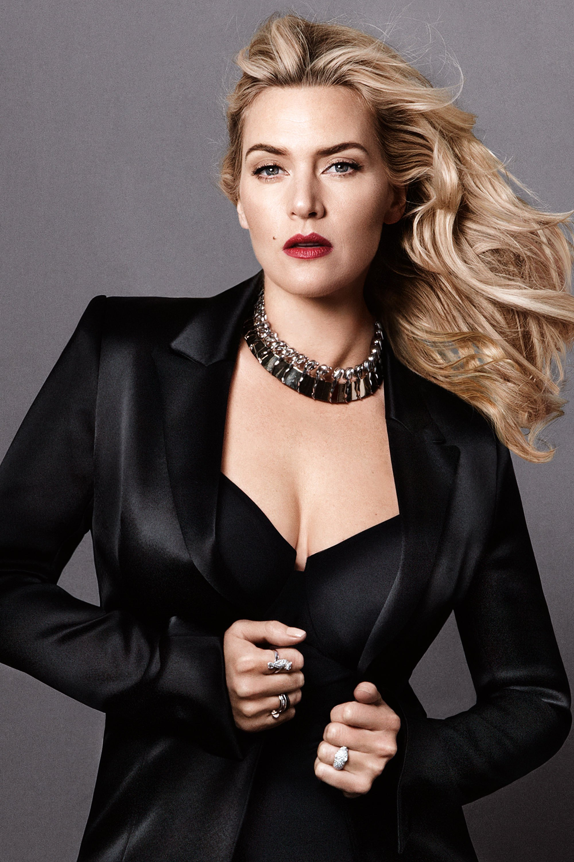 Kate Winslet Red Lips