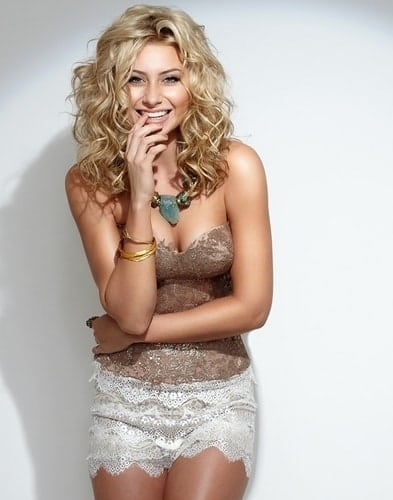 Aly Michalka on Smile