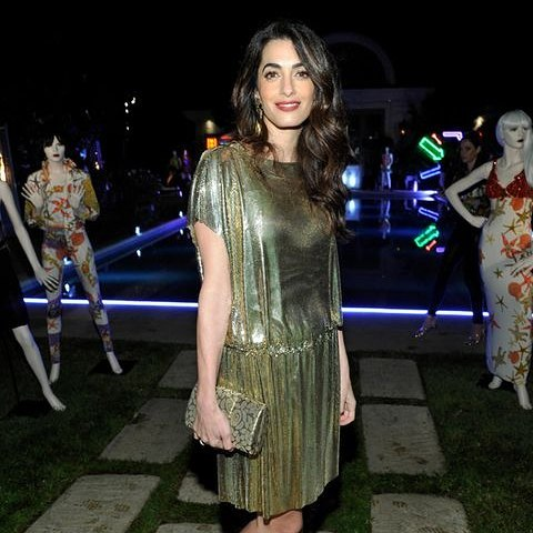 Amal Clooney on Party