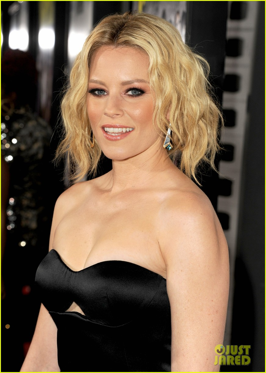 Elizabeth Banks Hot in Black