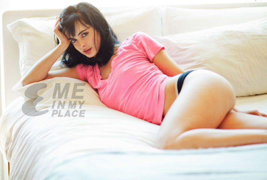 Krysten Ritter on Bed