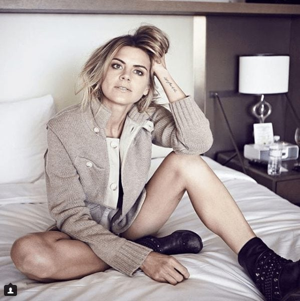 Eliza Coupe on Bed