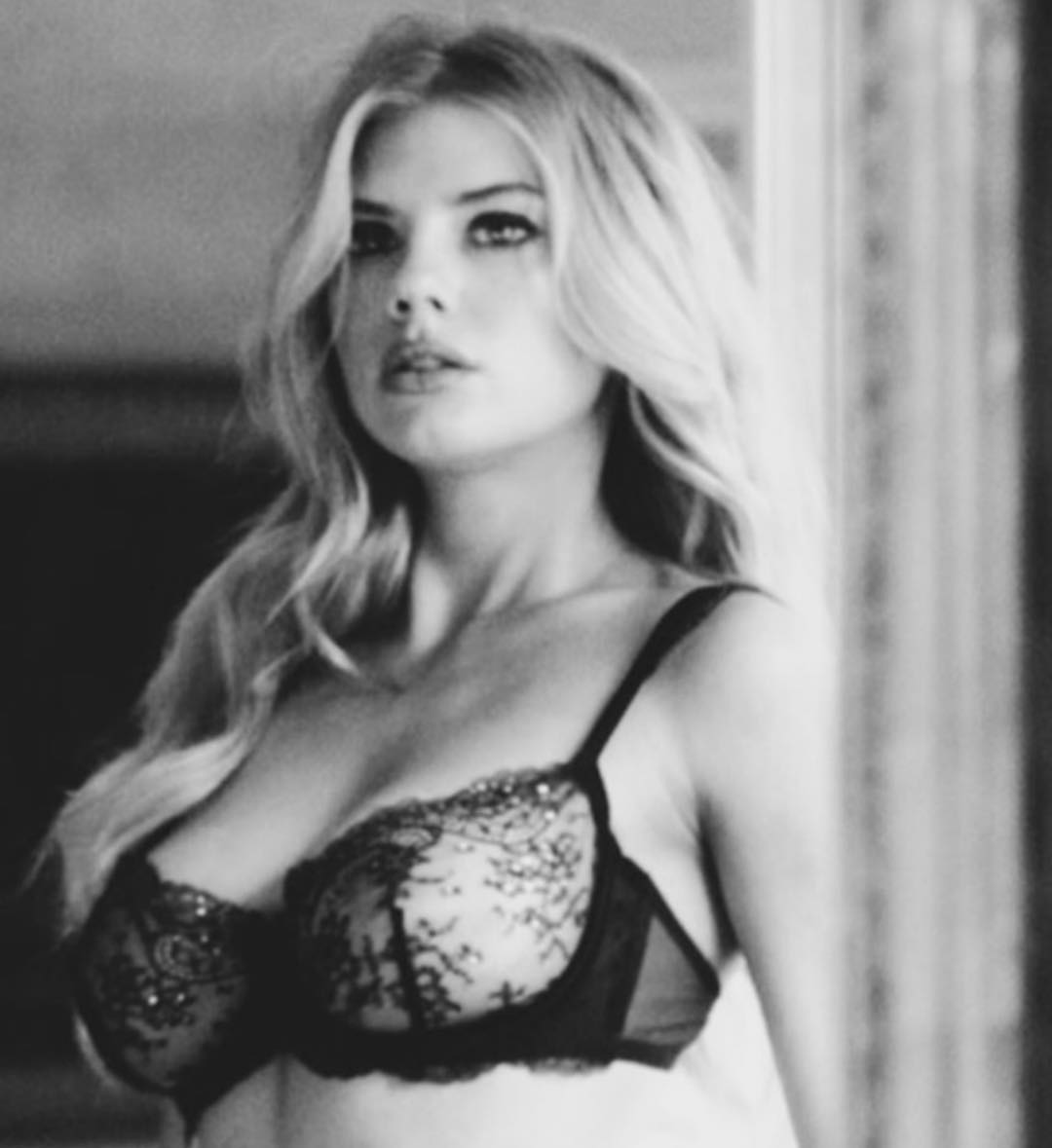 Charlotte Mckinney in Black & White