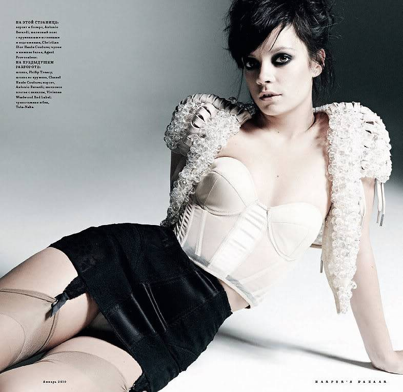 Lily Allen Sexy Photoshoot