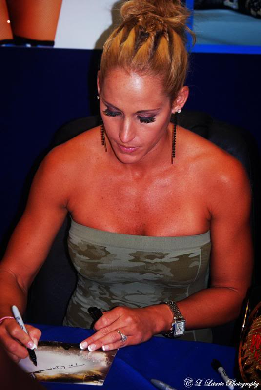 Michelle McCool Photoshoot