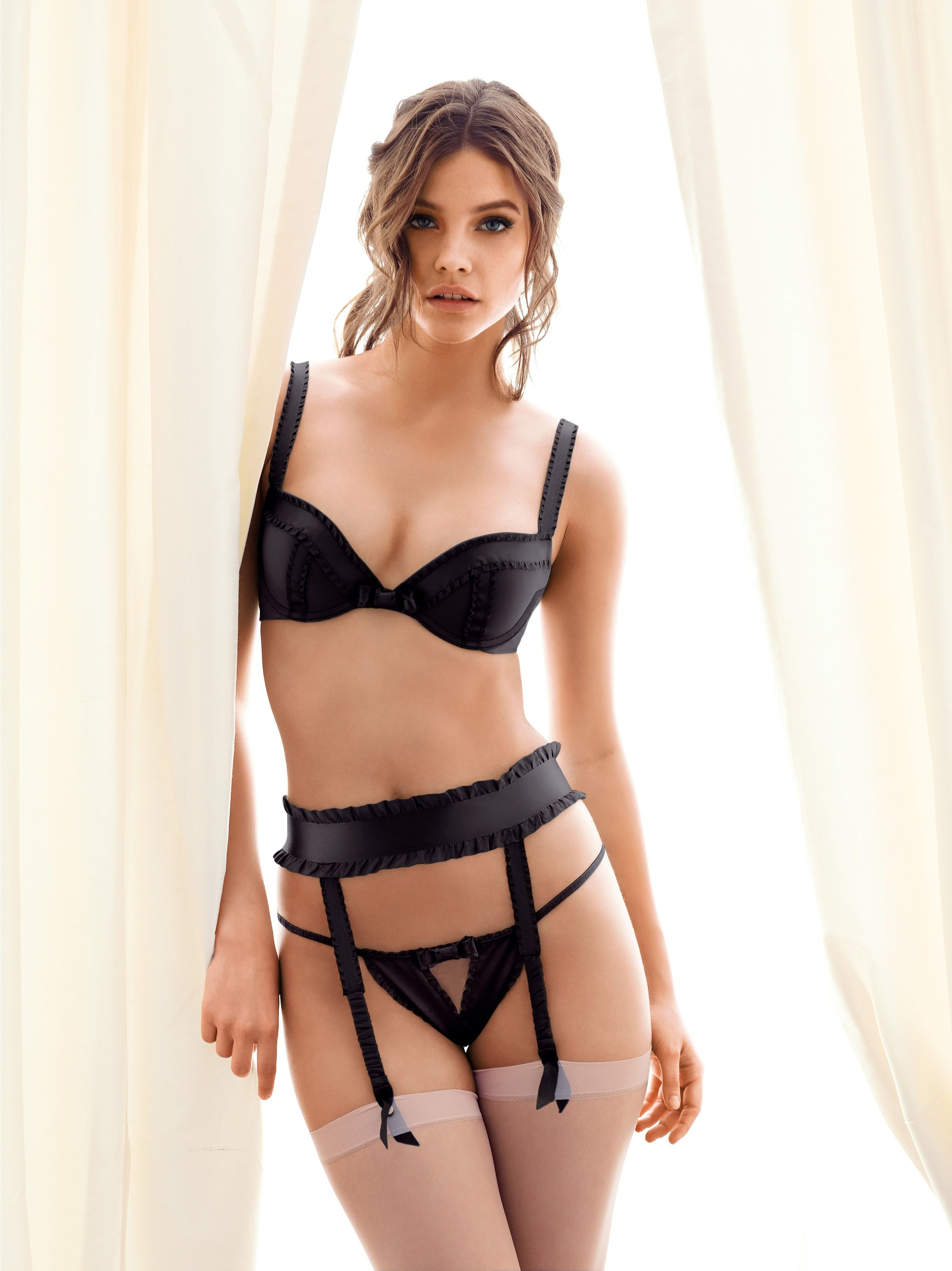 Barbara Palvin Hot in Lingerie