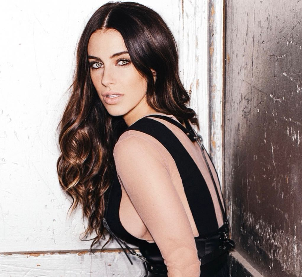 Jessica Lowndes Hot in Black