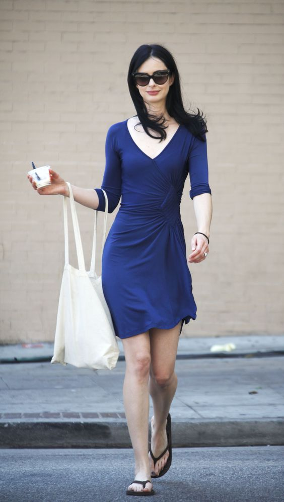 Krysten Ritter Hot Dress