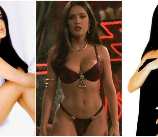 39 Hottest Salma Hayek Bikini Pictures Are Too Hot To Handle
